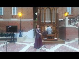 J. S. Bach, Concert 1 part,  , Ph. Chelzov , Zarizino