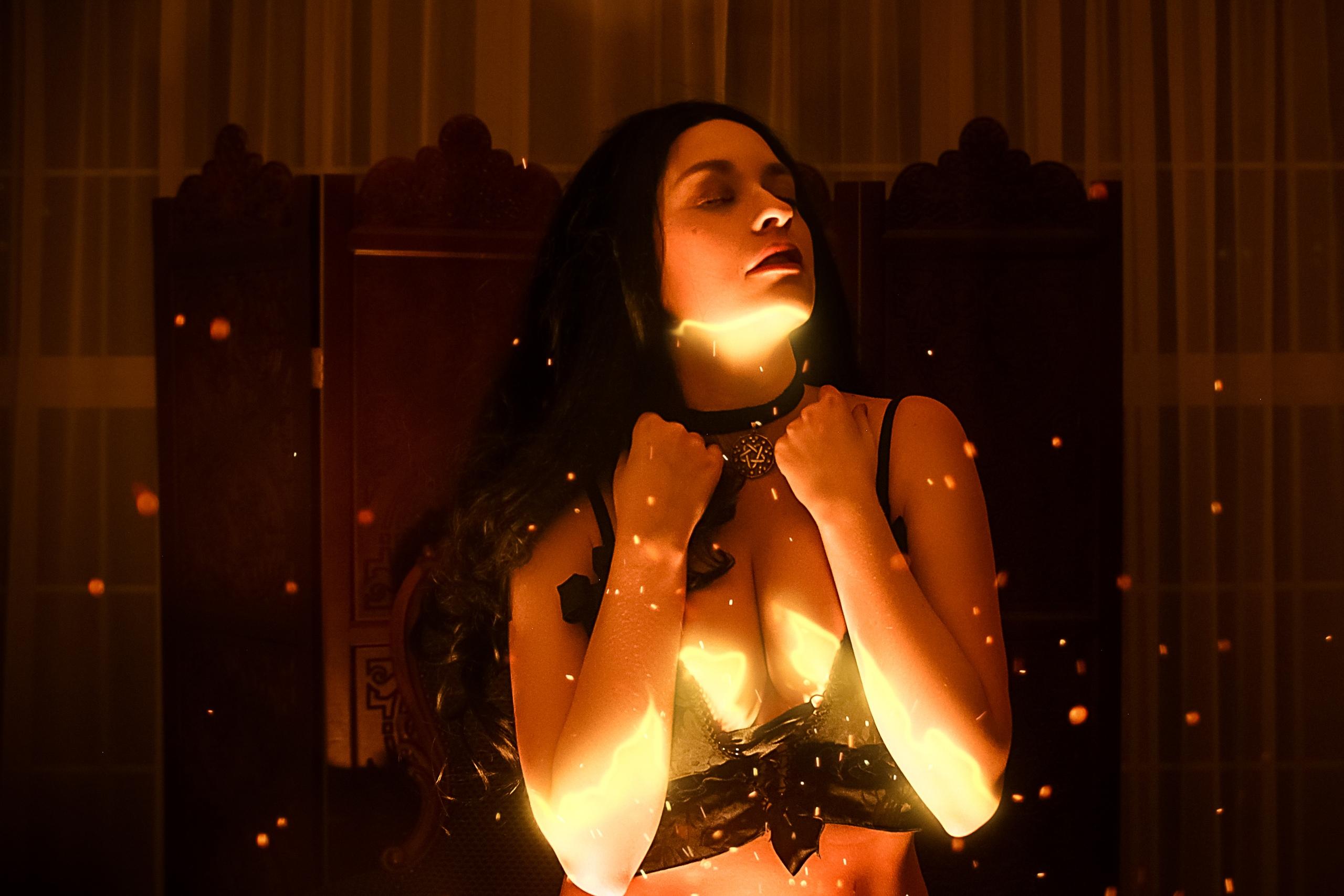 The Witcher Cosplay: Волшебные образы от Fragaria Zefir