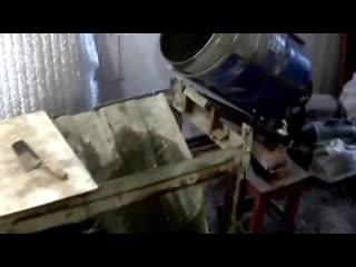 Самодельная бетономешалка