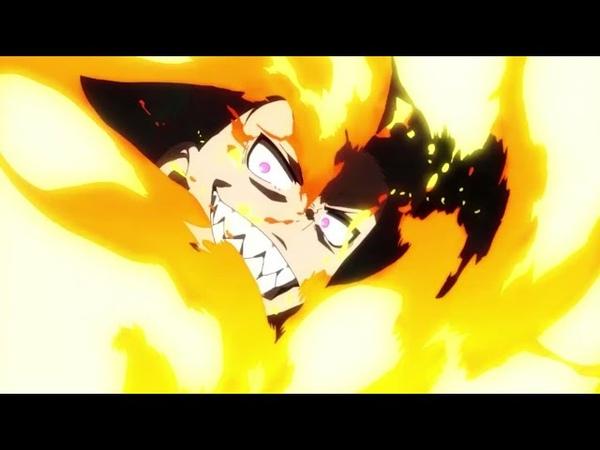 OP Enen no Shouboutai Fire Force Пламенная бригада пожарных 1080p 1080 Опенинг к аниме сериалу