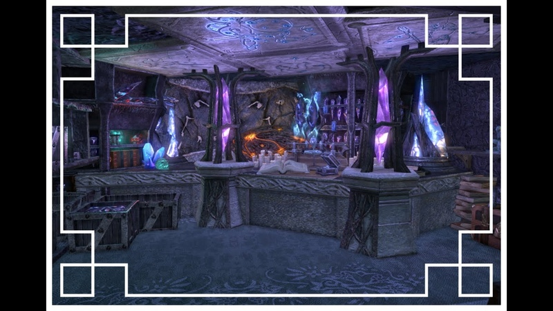 ESO Housing Visiting ShadowHvo's Coldharbour cave