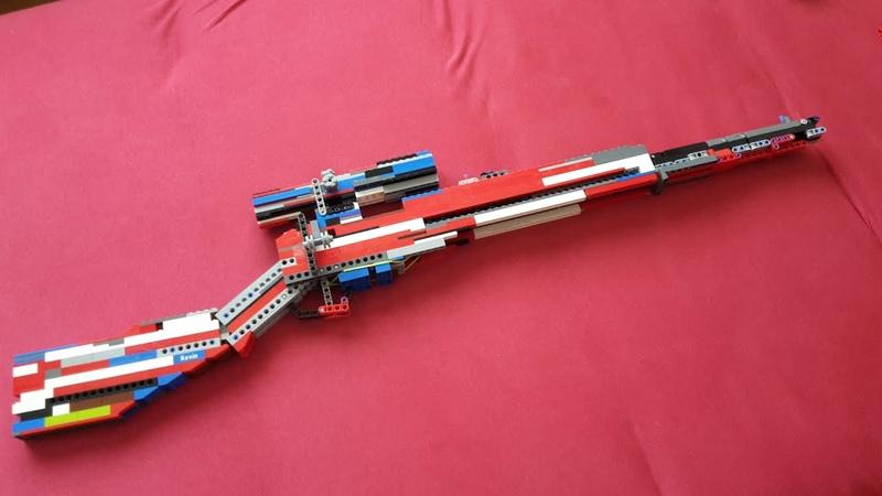 Lego Sniper rifle v6 Mechanism