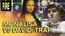 LUK AT MIH - Mona Lisa VS David. Gracias a este Trap by Sprite sabemos de quién se ríe La Gioconda.