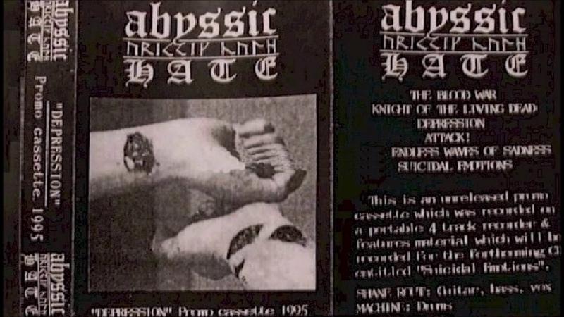 Abyssic Hate [AUS] [Raw BlackDSBM] 1995 - Depression (Full Demo)