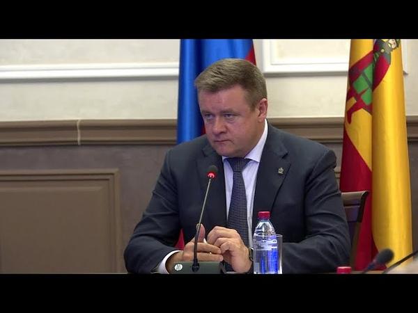 Николай Любимов встретился с ветеранами и пенсионерами региона