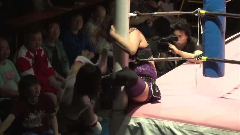 Rika Tatsumi vs Yuna Manase TJPW Tokyo Princess Cup 2019 Tag 3