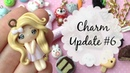 Polymer Clay Charm Update 6 Crafter Features ♡