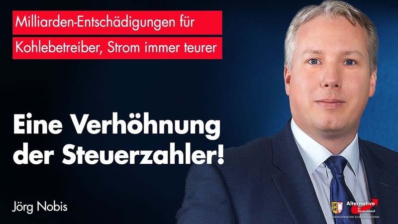 Jörg Nobis AfD Energiewende eine Verhöhnung der Steuerzahler