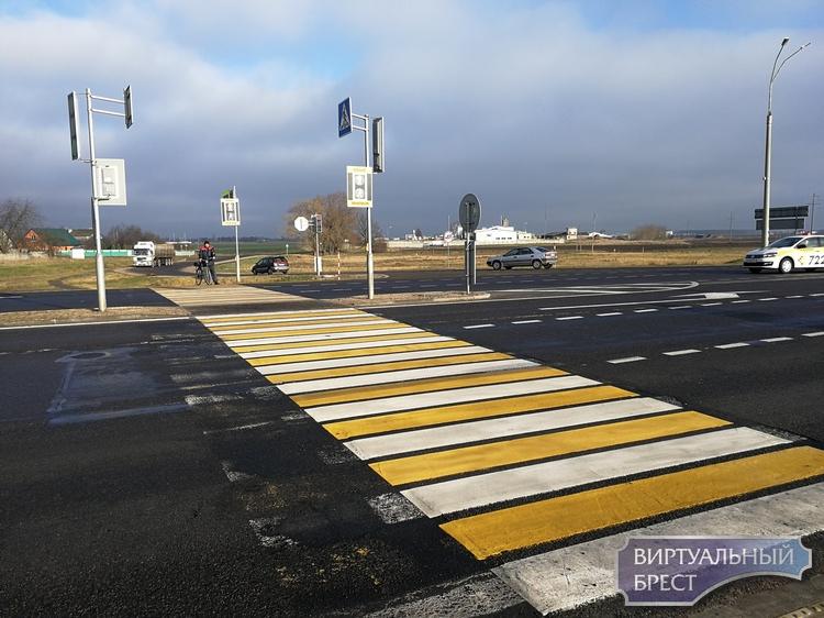 Как работает первый в Бресте интеллектуальный перекрёсток с датчиками наличия автомобилей