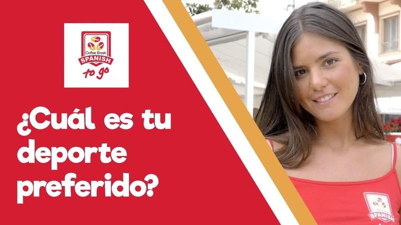 ¿Cuál es tu deporte preferido Talking about sport in Spanish Coffee Break Spanish To Go 1 10