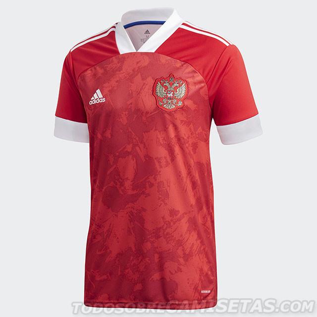 Домашняя игровая форма сборной России по футболу 2020/21