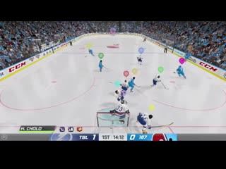 Отличные сейвы из NHL 20