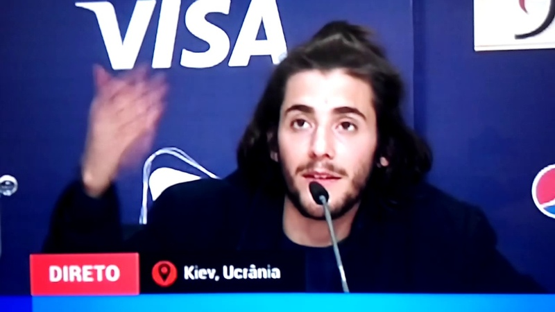 Salvador Sobral interview lets out a funny curse word