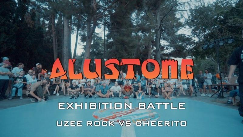 UZEE ROCK VS CHEERITO | EXHIBITION BATTLE | ALUSTONE 2020