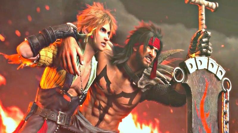 Dissidia FF NT Final Battle Cinematic Cutscene English PS4 Pro