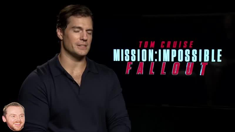 2018 Каст фильма Миссия невыполнима в интервью для Amber Doig Thorne
