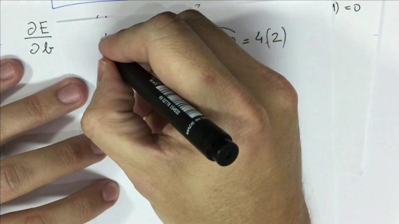 CNUM 019 Método dos Mínimos Quadrados Linear MMQ