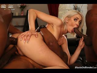 Zoe Sparx - GangBang Big Black Cock  [2020 г., GangBang, DP, Anal, ATM, 3 On 1, IR, Blonde, Petite, Sex Toys]