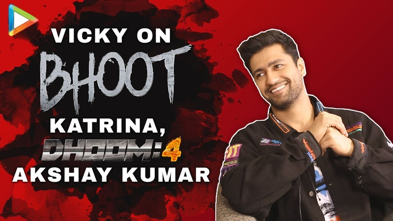 Vicky Kaushal on Katrina Kaif Dhoom 4 with Akshay Bhoot Funny Rapid Fire Fan Questions