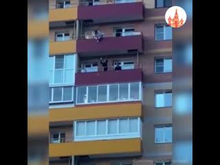 Спасение девушки в Иркутске