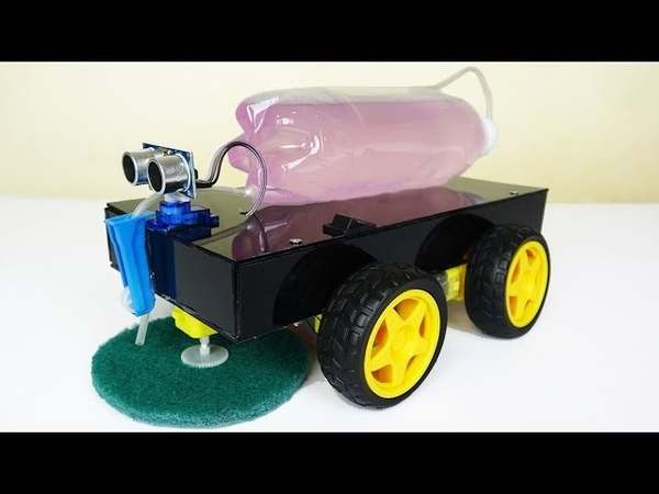 First In The World Make An Automatic Floor Cleaning Robot At Home Very Simple Easy DIY
