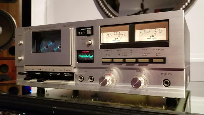 Teac cassette deck A 303 dolby B NR system 1977 vintage audio crazy eugene