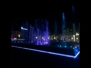 Пробный запуск обновленного фонтана в Пензе