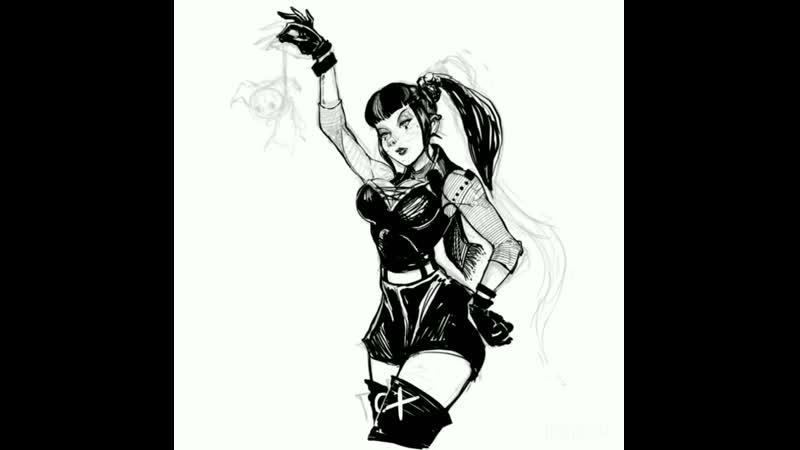 Art by shtickyart Joker's Punchline DC Панчлайн