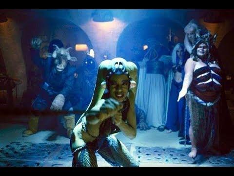 Star Wars Return of the Jedi Jabba's Dance Number Jedi Rocks