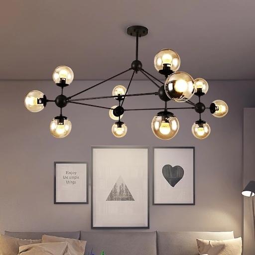 Самыми стильными светильниками в 2020 году считаются модели в стиле ретро, модульные светильники и подвесные люстры.