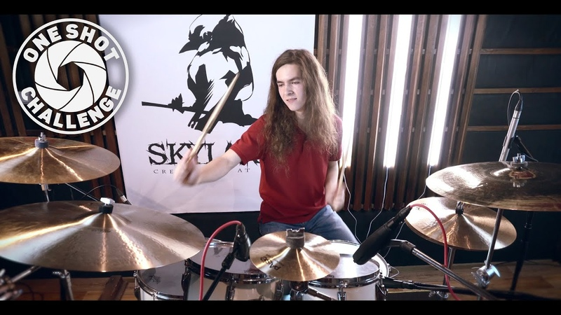 One Shot Challenge 4 - Николай Садков (The Black Eyed Peas - Let's get it started Drum Cover)