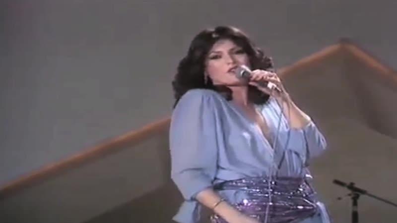 Eurovision 1980 Turkey Ajda Pekkan Petrol canlı söylüyor