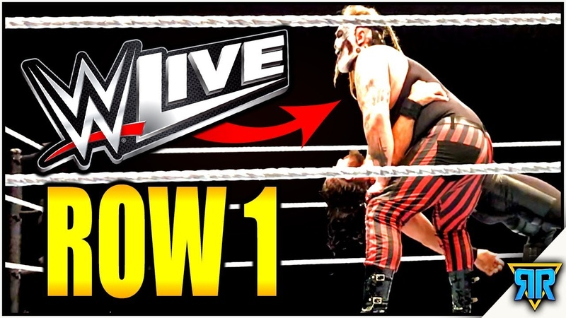 [My1] WWE Live Event: FIRST ROW 10/12/19 (Odessa, Texas) VIP EXPERIENCE!