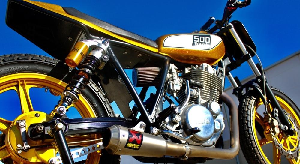 Dubstyle Designs: трекер Yamaha SR500