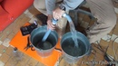 Как собрать ручную помпу для откачки воды из байдарки