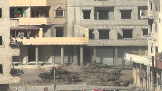 Syrian News-Syria - T-72  gets hit by RPG 29 and cooking off, New HD 720p