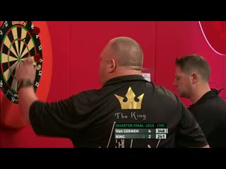 Michael van Gerwen vs Mervyn King (PDC Players Championship Finals 2019/ Quarter Final)