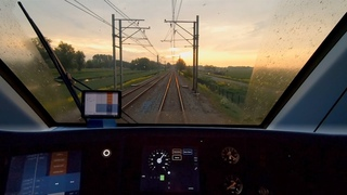 TTS announcements Leiden - Hoorn Kersenboogerd TRAIN DRIVER'S POV SNG 28apr 2020