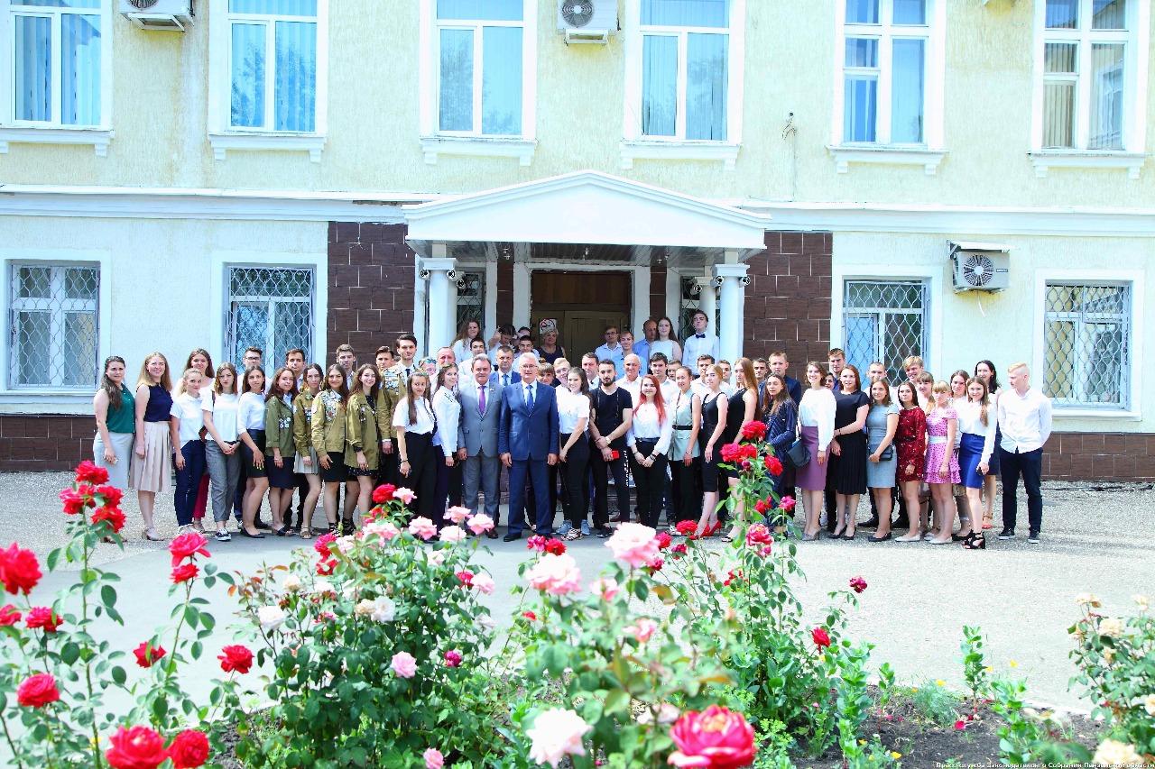 Губернатор Пензенской области встретился с бойцами СО ШСО «ПГУАС» и ПГАУ, изображение №4