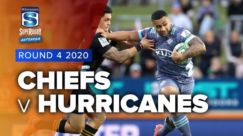 Super Rugby Aotearoa Chiefs v Hurricanes Rd 4 Highlights