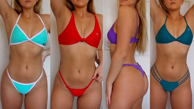 Sara E bikini try on haul boutinela