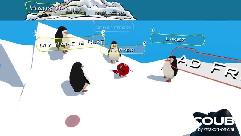 VRChat Penguin Sicko Mode