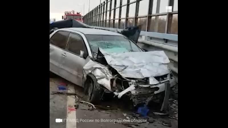 Смертельная авария на мосту через Ахтубу