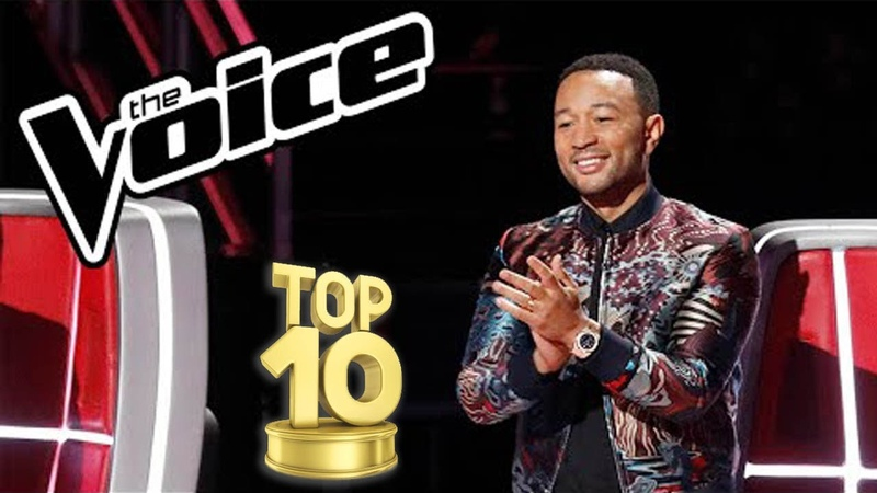 THE VOICE USA! TOP 10 MALE BLIND AUDITIONS OF ALL TIME!