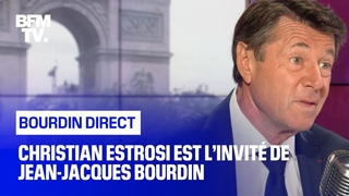Christian Estrosi face à Jean-Jacques Bourdin en direct