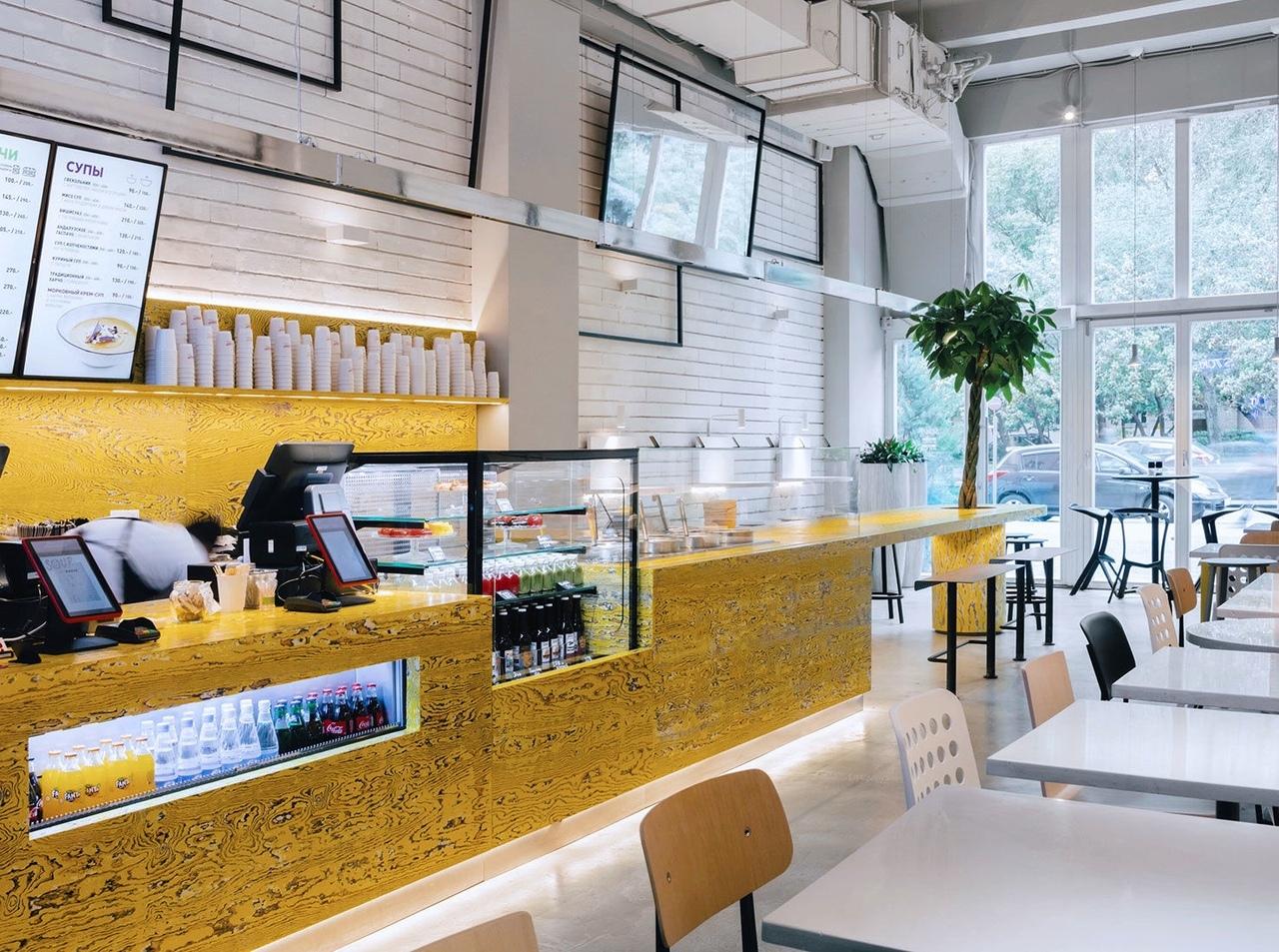 V12 Architects: кафе с индустриальным прошлым в Москве