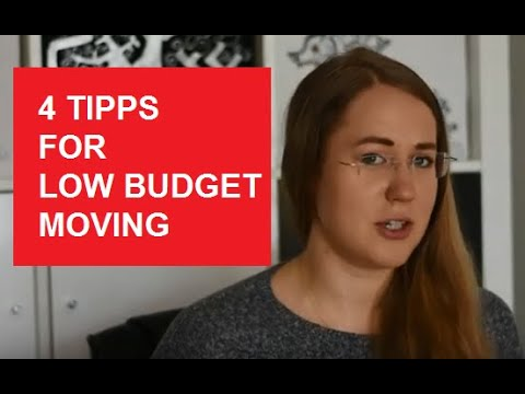 4 Tips on the low budget moving