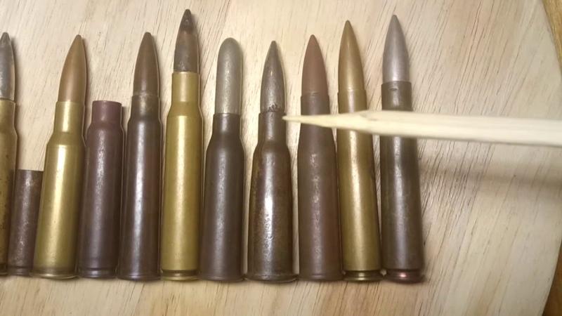 Винтовочно-пулемётные Второй Мировой