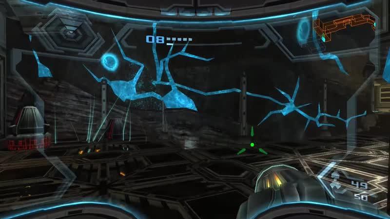 Metroid 7x29 Wii Metroid Prime 3.24 Destruyendo el Generador del Campo Protector en el Oeste de Bryyo