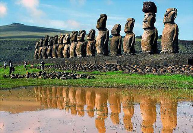 Остров Пасхи — «Пуп Земли» — «артефакт» Лемурии